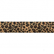 Elastic strip, print, panther, 40mm, 16508-10343