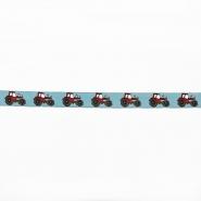 Trim, jacquard, tractor, 16509-20020