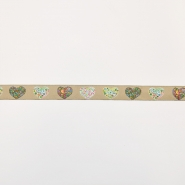 Trim, jacquard, hearts, 16511-30420