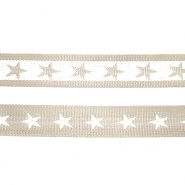Strip, webbing, stars, 40 mm, 16183-41770 - Bema Fabrics