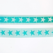 Elastic strip, 40mm, stars, 16515-42506, mint
