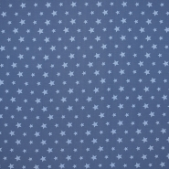Jersey, cotton, stars, 16365-006, blue