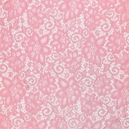 Čipka, elastična, 16543-012, roza
