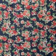 Šifon, poliester, cvetlični, 16547-008