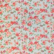 Šifon, poliester, cvetlični, 16547-022