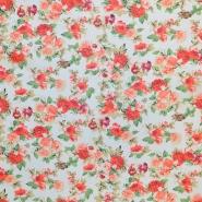 Šifon, poliester, cvetlični, 16547-051