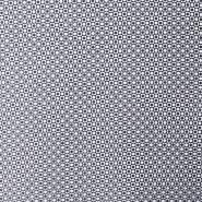 Tkanina, keper, geometrijski, 16551-008, modra