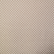 Fabric, twill, geometric, 16551-052, beige