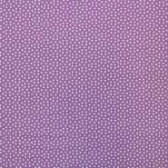 Fabric, viscose, squares, 16554-042, purple