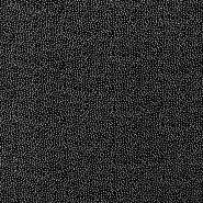 Tkanina, viskoza, pike, 16555-069, črna