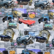 Deco, print, digital, cars, 16558-067
