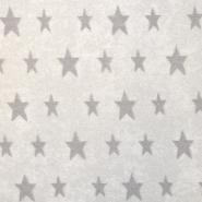 Frotir, zvezde, 16582-020, belo bež