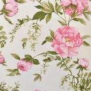 Deko, tisk, cvetlični, 16602-01