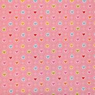 Deco, print, hearts, 16604-01