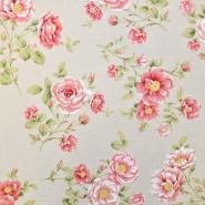 Deko, tisk, cvetlični, 15188-130