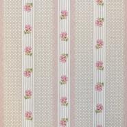Dekostoff, Druck, Blumen, 15188-131