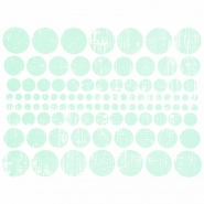 Preslikač, krogi, 16600-7, mint