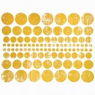 Preslikač, krogi, 16600-15, zlata