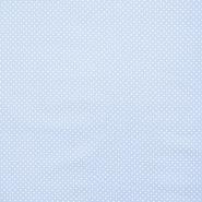 Bombaž, impregniran, pikice, 16629-002, svetlo modra