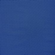 Bombaž, impregniran, pikice, 16629-005, modra