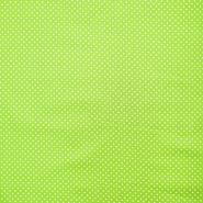 Bombaž, impregniran, pikice, 16629-024, zelena