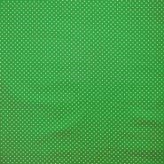 Bombaž, impregniran, pikice, 16629-025, zelena