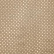 Bombaž, impregniran, pikice, 16629-053, bež