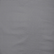 Bombaž, impregniran, pikice, 16629-068, siva