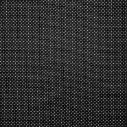 Bombaž, impregniran, pikice, 16629-069, črna