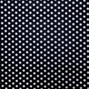 Bombaž, impregniran, pike, 16630-008, temno modra
