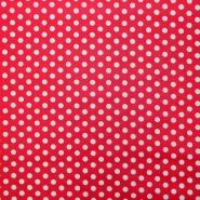 Bombaž, impregniran, pike, 16630-015, rdeča
