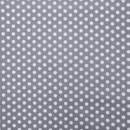 Bombaž, impregniran, pike, 16630-061, siva