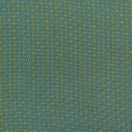 Tkanina, viskoza, krogci, 16677-3010
