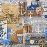 Deco, print, marine, 16699-1