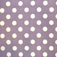 Deco jacquard, dots, 16738-6, purple