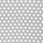 Deco jacquard, dots, 16738-8, grey