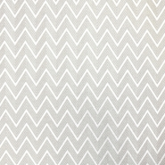 Deco print, zigzag, 16757-1, beige