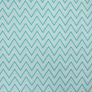 Deco print, zigzag, 16757-2, mint