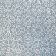 Dekostoff, Druck, orientalisch, 16759-1, minzgrün