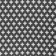 Deco jacquard, geometric, 16744-4, grey