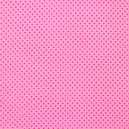 Jersey, cotton, dots, 16363-117, pink