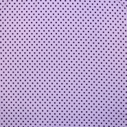 Jersey, cotton, dots, 16363-142, purple - Bema Fabrics