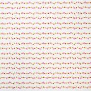 Bombaž, poplin, srčki, 16788-1