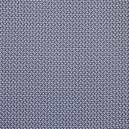 Pletivo, geometrijski, 16810-601, belo modra