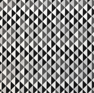 Deco jacquard, geometric, 16816-13