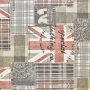 Deko, tisk, London, 16841-2