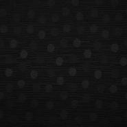 Otoman, žakard, 4146-319, črna