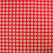 Bombaž, poplin, zvezde, 16982-015