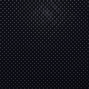 Bombaž, impregniran, pikice, 17051-008, modra