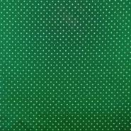 Baumwolle, imprägniert, Pünktchen, 17051-025, grün